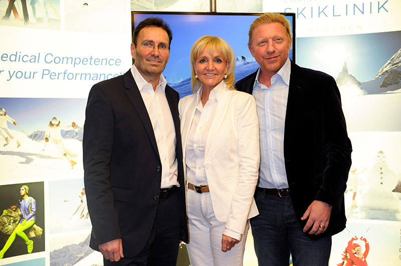 Boris Becker Kinshofer Skiklinik