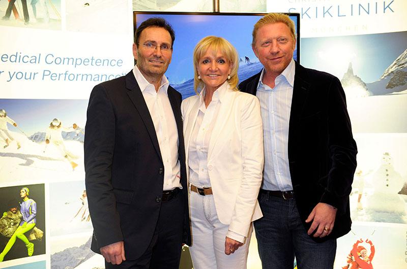Boris Becker Kinshofer Skiklinik